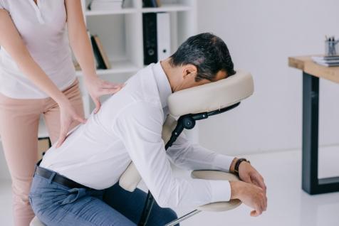 Le massage assis: pour qui?
