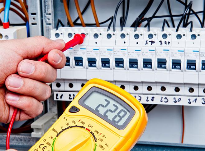 Réparation de panneau électrique