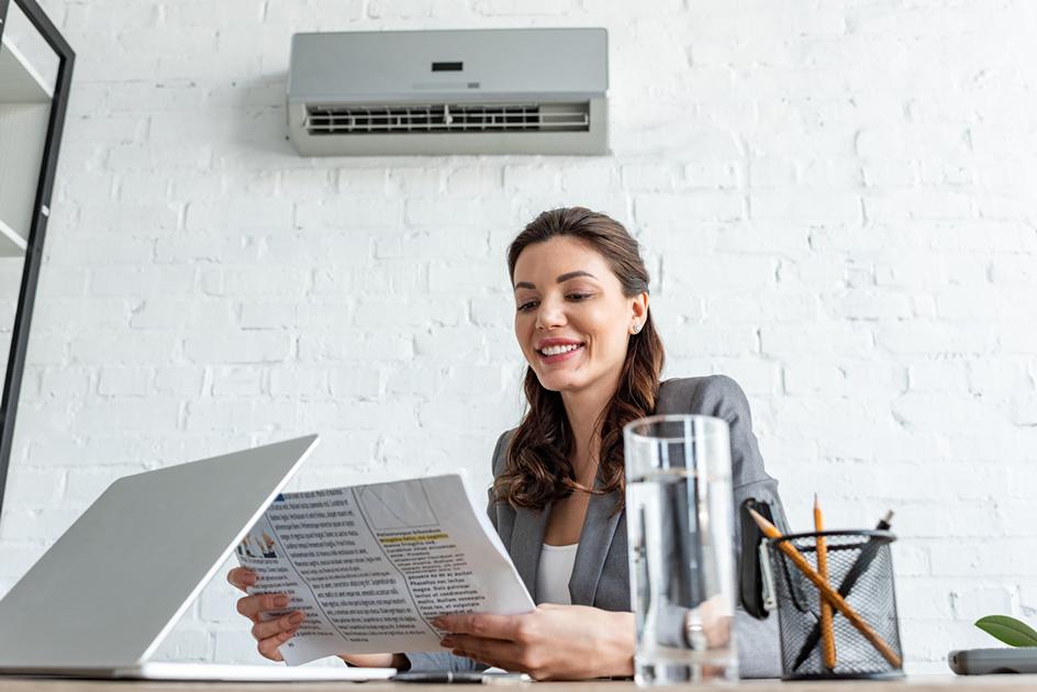 Climatisation et température, un conflit de bureau